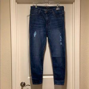 J. Crew Mercantile High Rise Skinny Jean Size 31